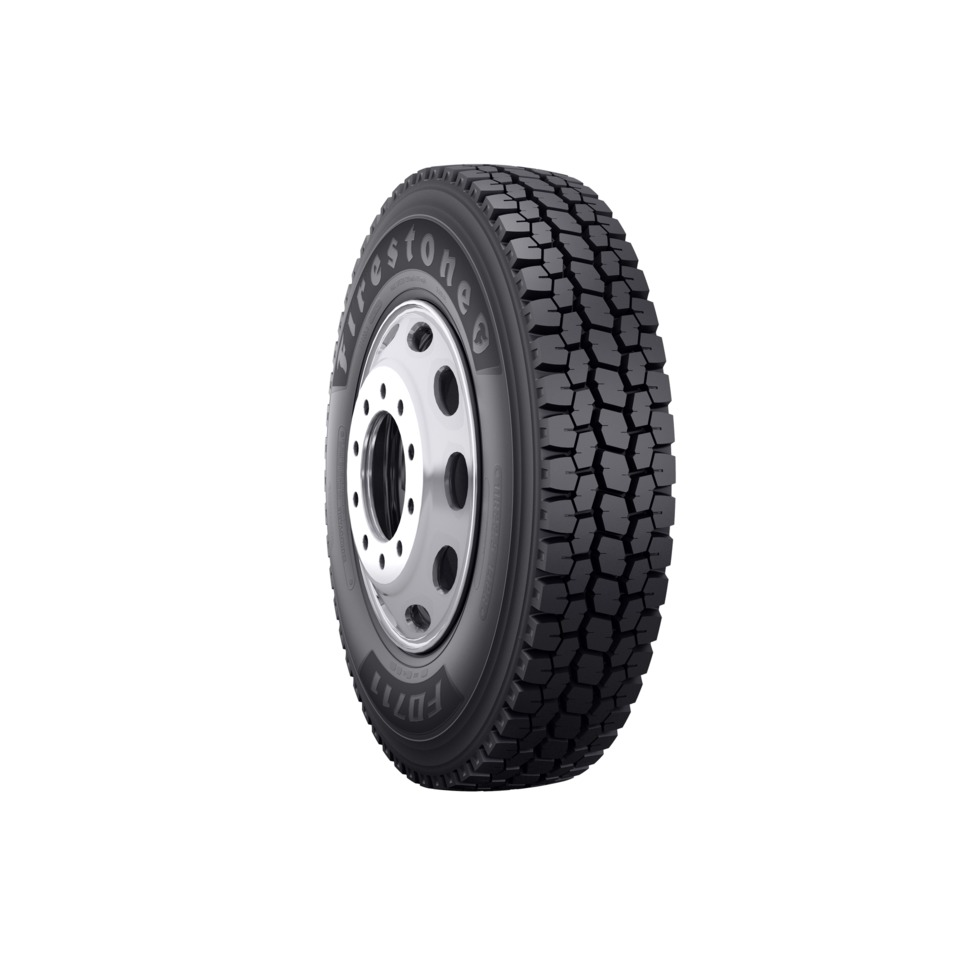 Bridgestone Americas offers the Firestone FD711 drive tire, engineered for  durable, long-lasting performance in high-scrub and high-traction  applications.