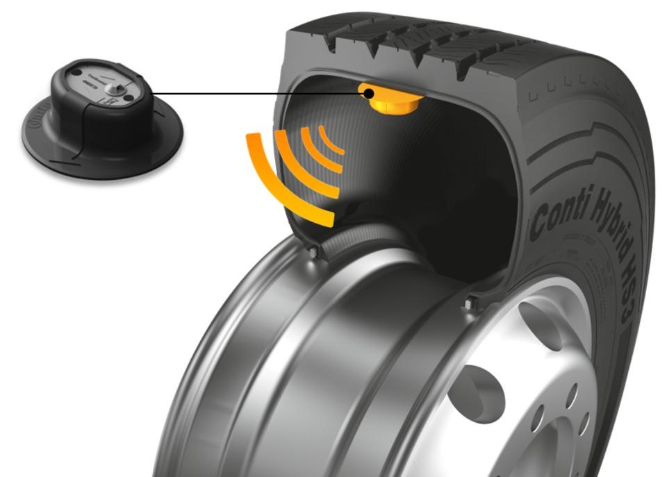 Continental Embedded Tire Pressure Monitoring Sensor
