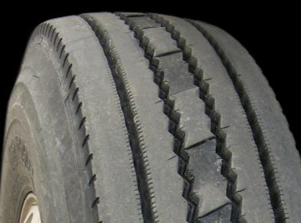 Tire Patch Cost >> Image examples of commercial truck tire wear by type