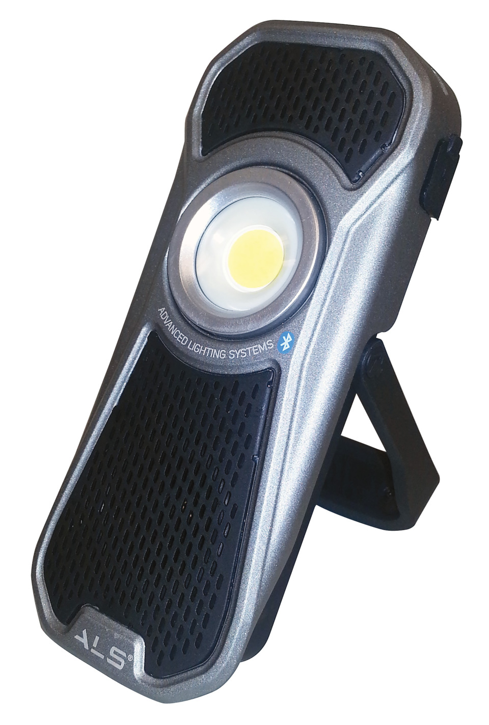 Advanced Lighting Systems 600lm Rechargeable Handheld Led Audio Bicycle Lightings The Light No Aud601r Has A Built In Bluetooth Speaker That Provides Superior Sound