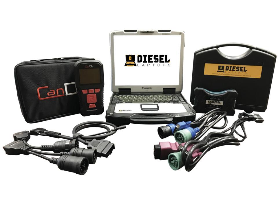Diesel Laptops Universal Diesel Truck Diagnostic Kit with