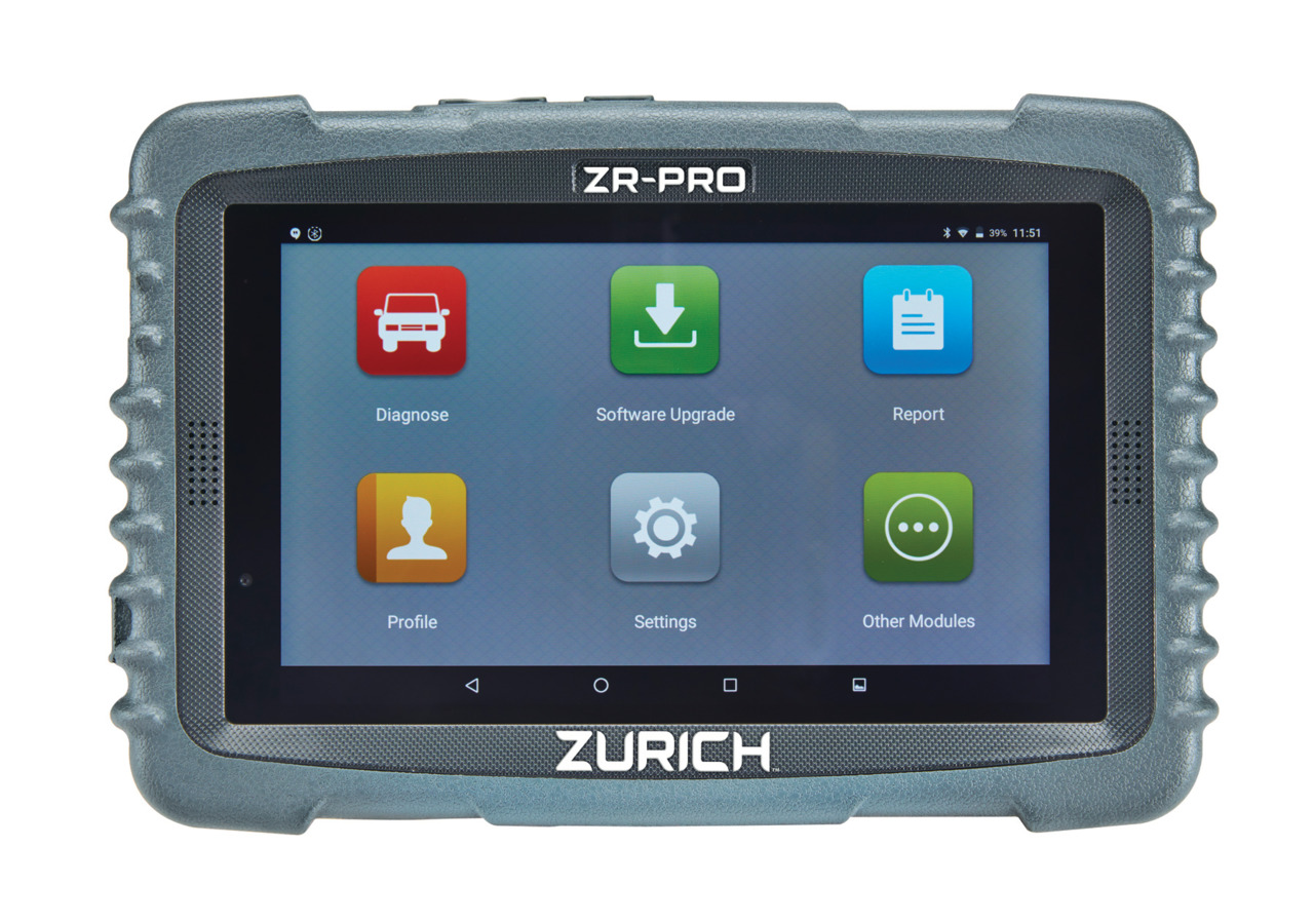 Automotive Scan Tool >> Zurich Zrpro Professional Obd Ii Scanner In Scan Tools
