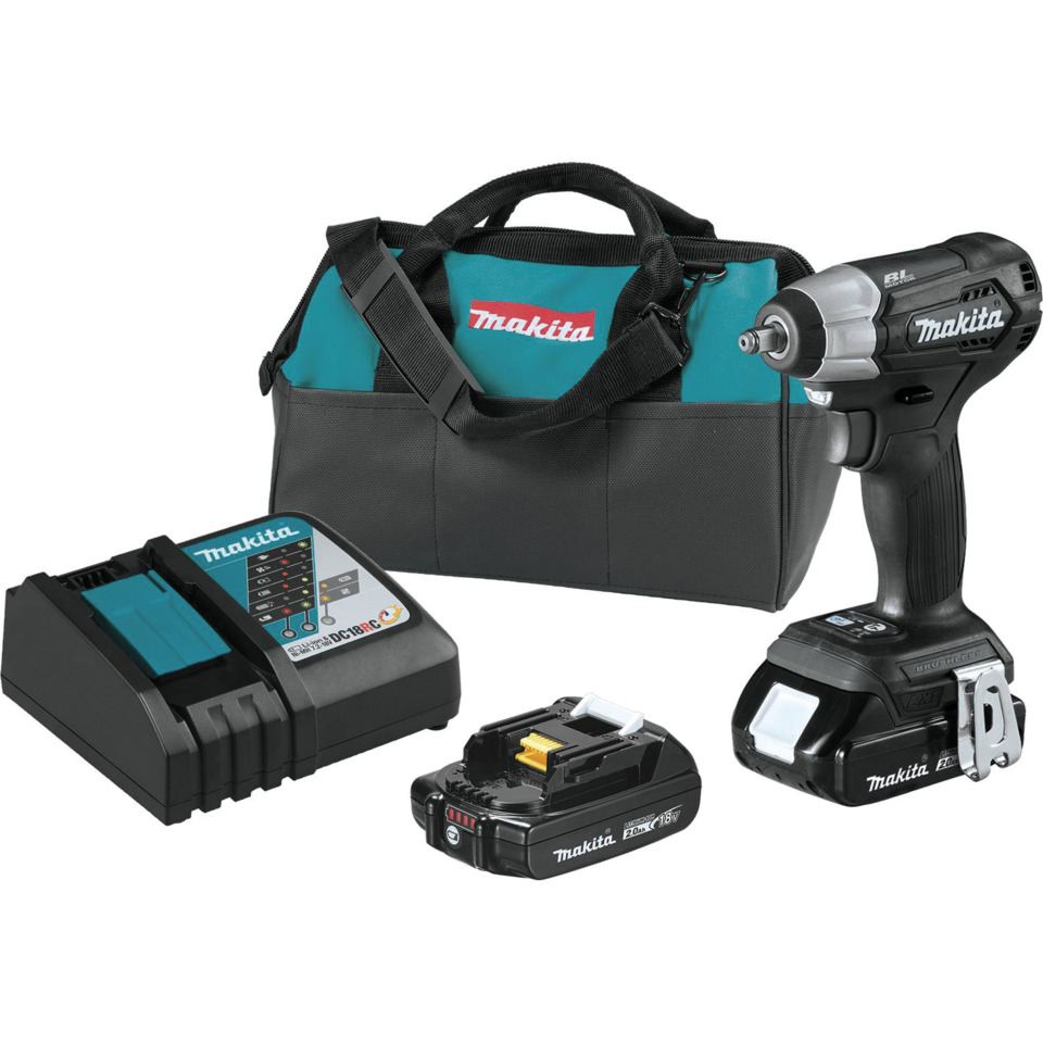 Tool Review Makita 18v Lxt Sub Compact Brushless 3 8 Square Drive Impact Wrench