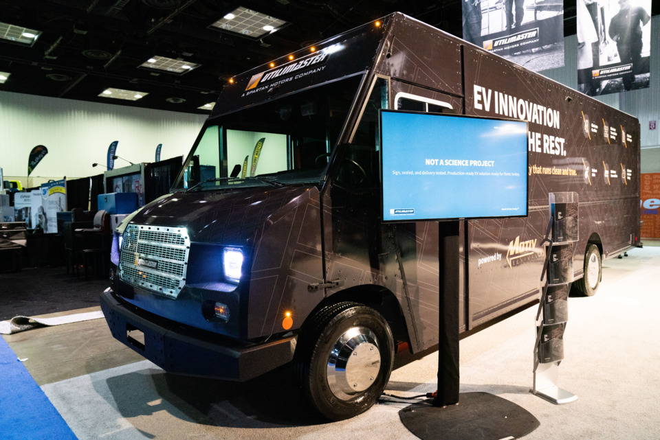Spartan Motors introduces two electric vehicles at Work Truck Show