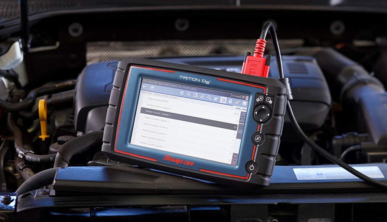 Snap-on introduces Triton D8, the latest addition to its Intelligent