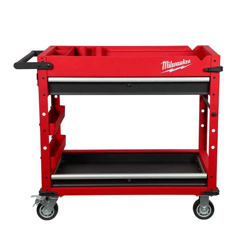 Milwaukee Electric Tool Corp 40 Quot Steel Work Cart In Tool