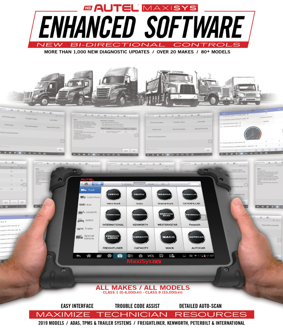 Autel releases enhanced MaxiSYS software