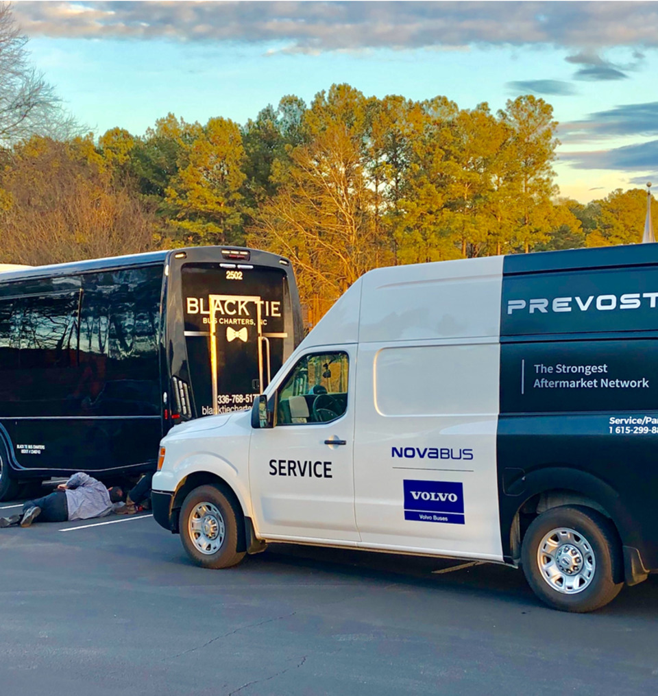 Guest Blog: Prevost Service Vans take the call