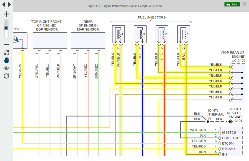 Mitc 1 enhances wiring diagrams in ProDemand software ... A Wiring Diagram Features on