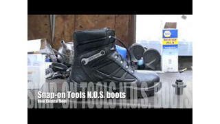 Snap-on Tools N.O.S. boot from Coastal Boots