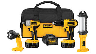 In Focus: DEWALT 14.4V Automotive 4-piece Combo Kit