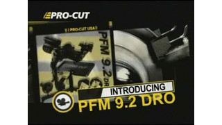 ProCut 9.2 DRO Product video
