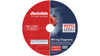 In Focus: Autodata Colored Wiring Diagrams with Component Locations on DVD