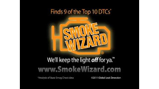 Smoke Wizard: Using Flow Control, Smoke and UV Dye To Find Leaks