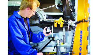 handEye Wireless Mobile Software Application for Measuring Vehicles