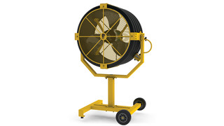 Tool Review: Big Ass Fans Yellow Jacket portable fan