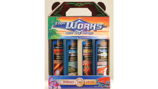 The Works detailing kit