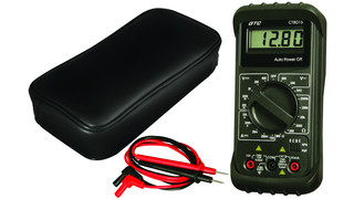 CT8015 Manual Range Digital Multimeter