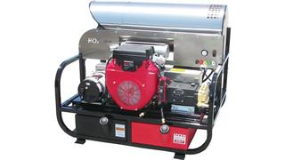 Honda-powered Skid Pressure Washing System