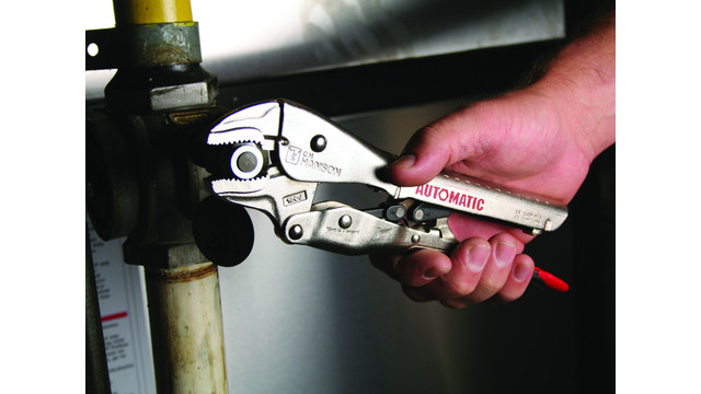 Automatic line of locking pliers and clamps