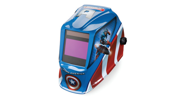 Captain America Viking 2450 Series welding helmet