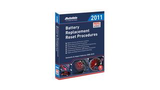 In Focus: Autodata Battery Replacement Reset Procedures Manual