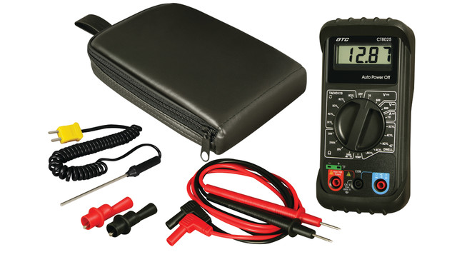 CT8025 Automotive Digital Multimeter