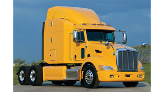 Peterbilt truck recognized by EPA Smartway Program