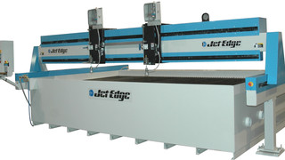 Mid Rail Gantry water jet cutting machine No. MR513