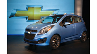 Spark joins Chevrolet's U.S. 2012 small car lineup