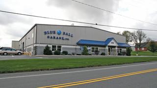 The Blue Ball Garage