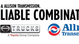 Hino Trucks signs exclusive agreement with Allison Transmission