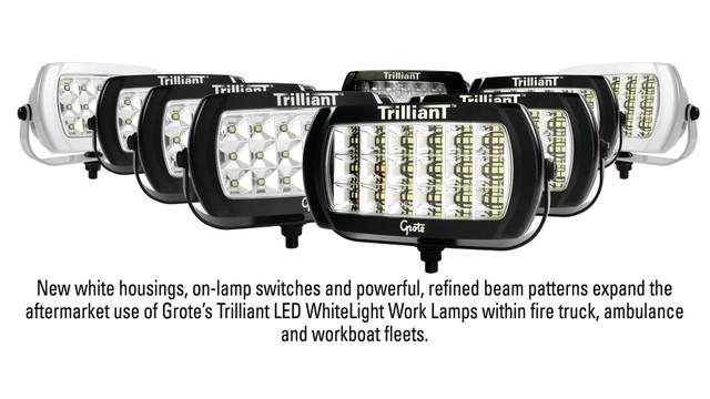 Grote expands Trilliant LED WhiteLight work lamp family