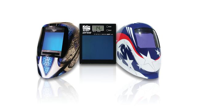 iDF Intelligent Darkening Filter welding helmets