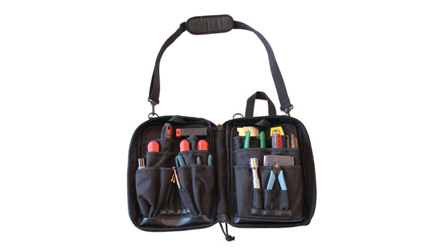 Modular Zippered Tech Bag