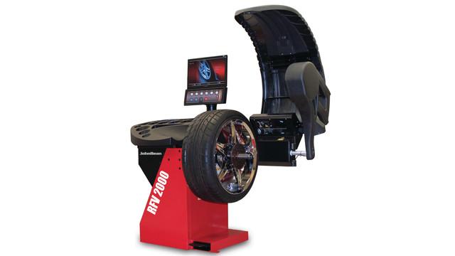 John Bean RFV 2000 Automated Diagnostic Wheel Balancer