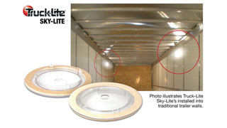 Truck-Lite utilizes sunlight for added interior trailer lighting