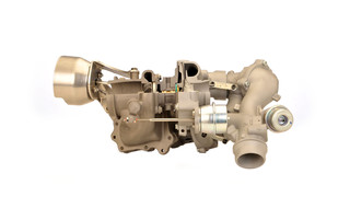 BorgWarner's R2S turbocharging technology drives first 4-cyl. engine in Mercedes S-Class
