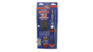 20-in-one Multi-Tip Ratchet Screwdriver