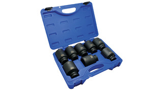 3/4 drive 8-pc bluePOWER Deep Impact Socket Set No. CBPI58LST