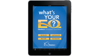 Quincy Compressor unveils Efficiency Quotient app for iPads