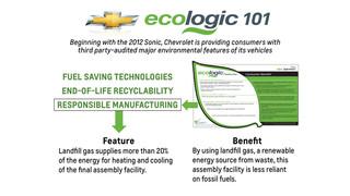 Chevrolet pioneers auto environmental label