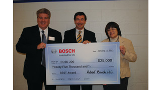 Bosch awards $25K to local schools to further science education