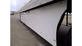 Trailer fairing for intermodal trailers