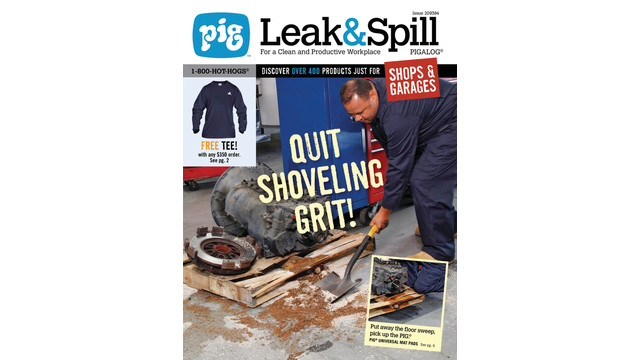 Leak and Spill PIGALOG catalog