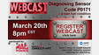 Registration open for Diagnosing Sensor Code P0171 webcast