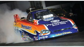 Jay Blake and Follow A Dream racing team to challenge 2012 NHRA Series with Permatex sponsorship