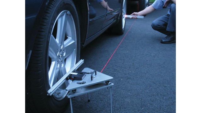 Laser Steering Wheel Straightener