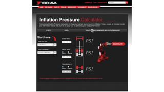 Yokohama launches inflation pressure calculator