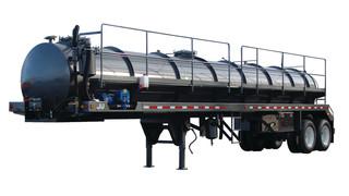 DynaHauler PVT 130 BBL tank trailer